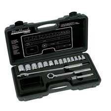 "17 Piece Standard Socket Sets - 17 piece socket set 1/2""drive"