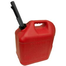 Spill Proof Gas Can