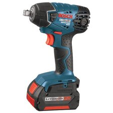 "<strong>Bosch Power Tools</strong> Bosch Power Tools - Litheon Impactor Cordless Fastening Drivers 18.0 Vt Litheon Impach Wrench .5"" Drive W/2 Batt: 114-24618-01 - 18.0 vt litheon impach wrench .5"" drive w/2 batt"