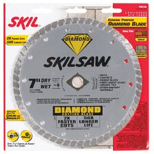 "7"" Skilsaw® Diamond™ Circular Saw Blade  79510"