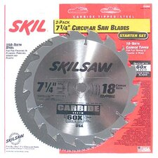 2-Piece Circular Saw Blade Set  75302