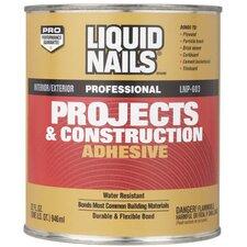 1 Quart Liquid Nails® Projects & Construction Adhesive LNP603