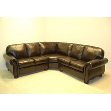 Dynamic Leather Sectional