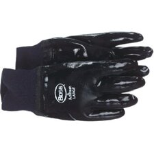 "Smooth Grip Neoprene Coated Gloves - 14"" long fully coated heavy duty neopre"