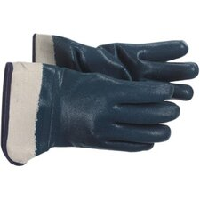 Jersey Lined Nitrile Coated Gloves - heavy weight blue nitrile glove jersey lined