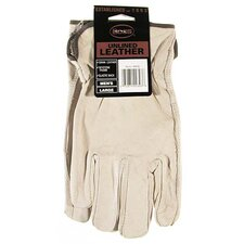 Large Premium Grain Unlined Leather Gloves