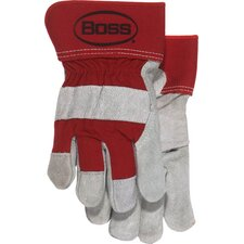 Large Split Leather Palm Gloves
