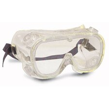 Softsides® Indirect Vent Goggles With Amber Ultraviolet Frame And Amber Ultraviolet Lens (Bulk 72 Per Box)
