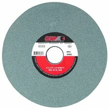 Green Silicon Carbide Surface Grinding Wheels - 7x1x1-1/4   t5  gc100-i-v grinding wheels