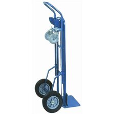 <strong>Wesco Manufacturing</strong> Two-In-One Deluxe Industrial Steel Hand Truck
