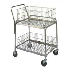 "37.5"" Compact Office Cart"