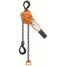 Series 653 Lever Chain Hoists - 653 1-1/2 ton lever hoist 10' lift