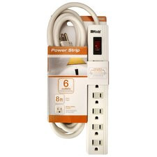 6 Outlets Power Strip