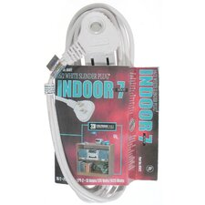 SlenderPlug Indoor Cube Tap Extension Cord