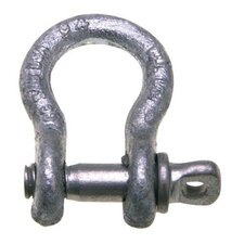 "419 Series Shackles - 419 1"" 8-1/2t shackle w/screw pin carbon"