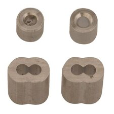 "Cable Ferrule & Stops - 1/16"" aluminum cable ferrules and stops"