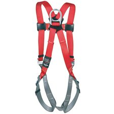 Medium/Large PRO™ Line Full Body Industrial Harness With Pass Thru Legs And Back D-Ring