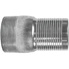 "<strong>Dixon Valve</strong> ""King"" Combination Nipples 2 1/2 King Nipple Plated: 238-Stc30 - 2 1/2 king nipple plated"