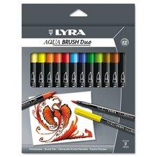 Lyra Dual Tip Marker, 12 Per Pack