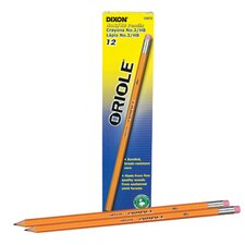 Oriole Woodcase Pencil, 6 bxs/Pack