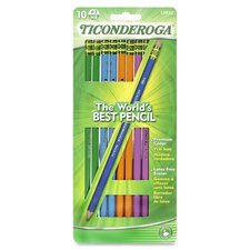 <strong>Dixon Ticonderoga Company</strong> Ticonderoga No. 2 HB Pencil (10 Per Card)