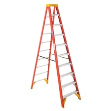 10' Fiberglass Step Ladder 6210