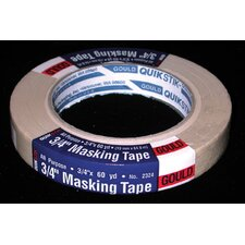 "3/4"" X 60 Yards Gould QuikStik™ All Purpose Masking Tape 02324"