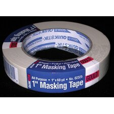 "1"" X 60 Yards Gould QuikStik™ All Purpose Masking Tape 02325"