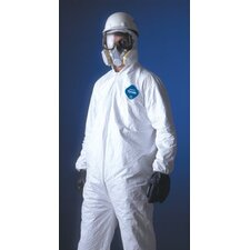 Tyvek® Coveralls - dupont tyvek coverall zip ft  hd skid resist. xl