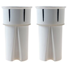High Protection Universal Replacement Pitcher Filter Cartridge (Set of 2)
