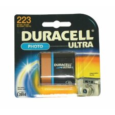 Duracell - Lithium Batteries 6.0 Volt Lithium Photo/Elictronic Battery: 243-Dl223Abpk - 6.0 volt lithium photo/elictronic battery