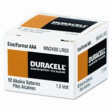 <strong>Duracell</strong> Coppertop Alkaline Batteries, AAA, 24/box