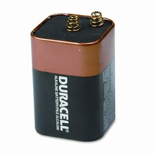 Coppertop Alkaline Lantern Battery, 6V