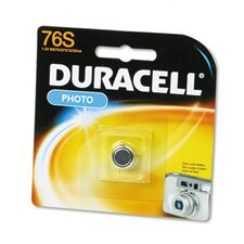 <strong>Duracell</strong> Button Cell Silver Oxide Camera Battery, 1.5V