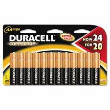 <strong>Duracell</strong> Coppertop Alkaline Batteries