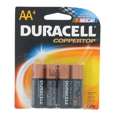AA Long Lasting Power Alkaline Battery (Set of 4)