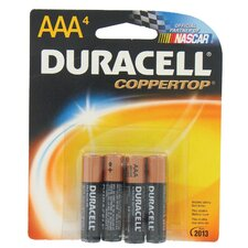 Coppertop AAA Alkaline Battery (Set of 4)