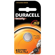 3 Volt Lithium Security 1616 Battery