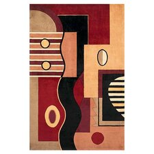 Signature Jewel Tone Multishapes Area Rug