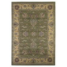Cambridge Sage/Beige Bijar Rug