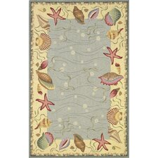 <strong>KAS Oriental Rugs</strong> Colonial Ocean Surprise Novelty Rug