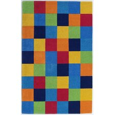 Kidding Around Boys' Blocks Kids Rug