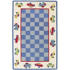 <strong>KAS Oriental Rugs</strong> Kidding Around Cars Kids Rug