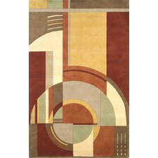 Signature Art Deco Area Rug
