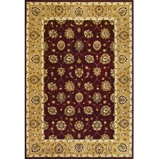 Cambridge Red/Beige Tabriz Rug