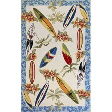 <strong>KAS Oriental Rugs</strong> Sonesta Surfboards Novelty Rug