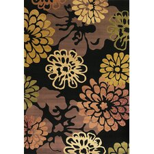 Moda Black Bella Rug