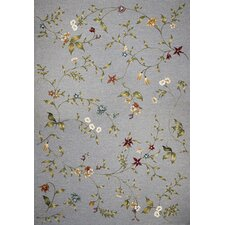 Horizon Blue Floral Indoor/Outdoor Rug