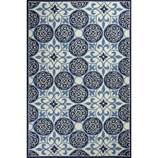 Colonial Blue / Ivory Area Rug
