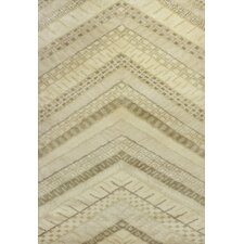 Amore Cream Chevron Rug